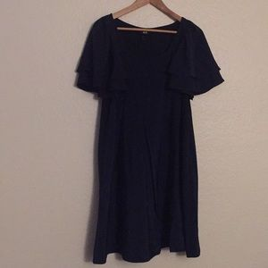 Navy Blue H&M Swing Dress